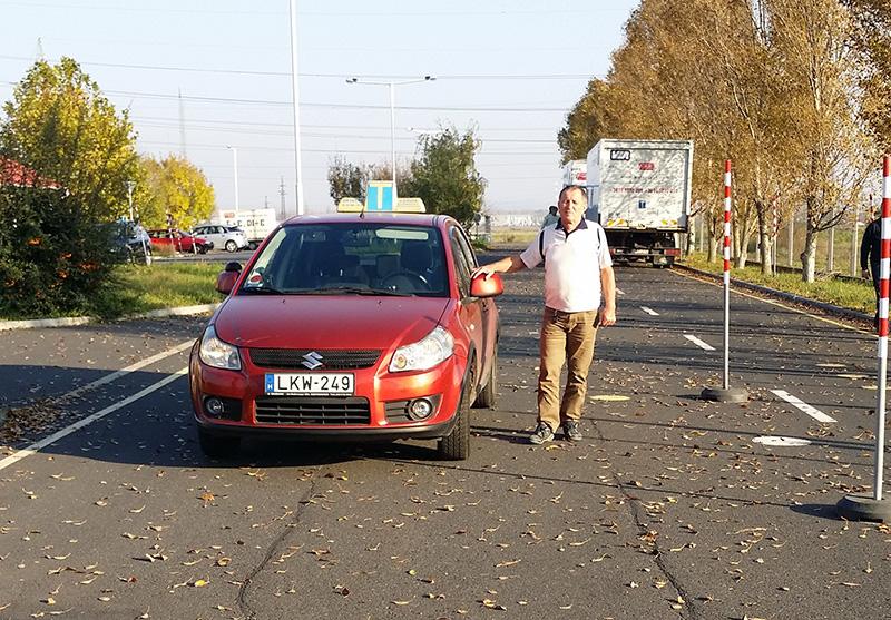 Szalai Sándor autó