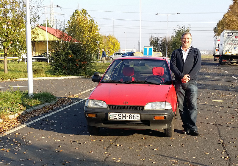 Klányi Menyhért autó