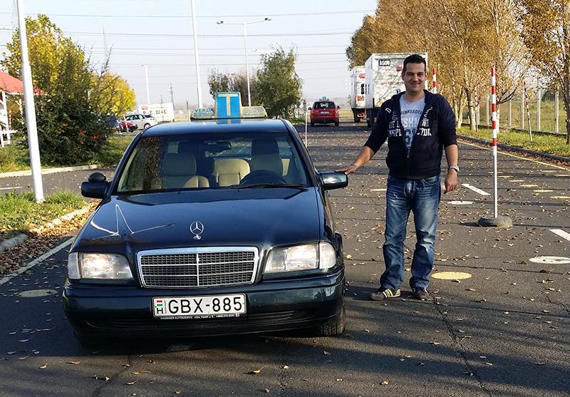 Németh Miklós autó
